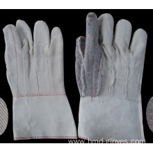 Hot selling attractive price for Cotton Work Gloves Safety Hotmill Canvas Gloves export to Palau Wholesale
